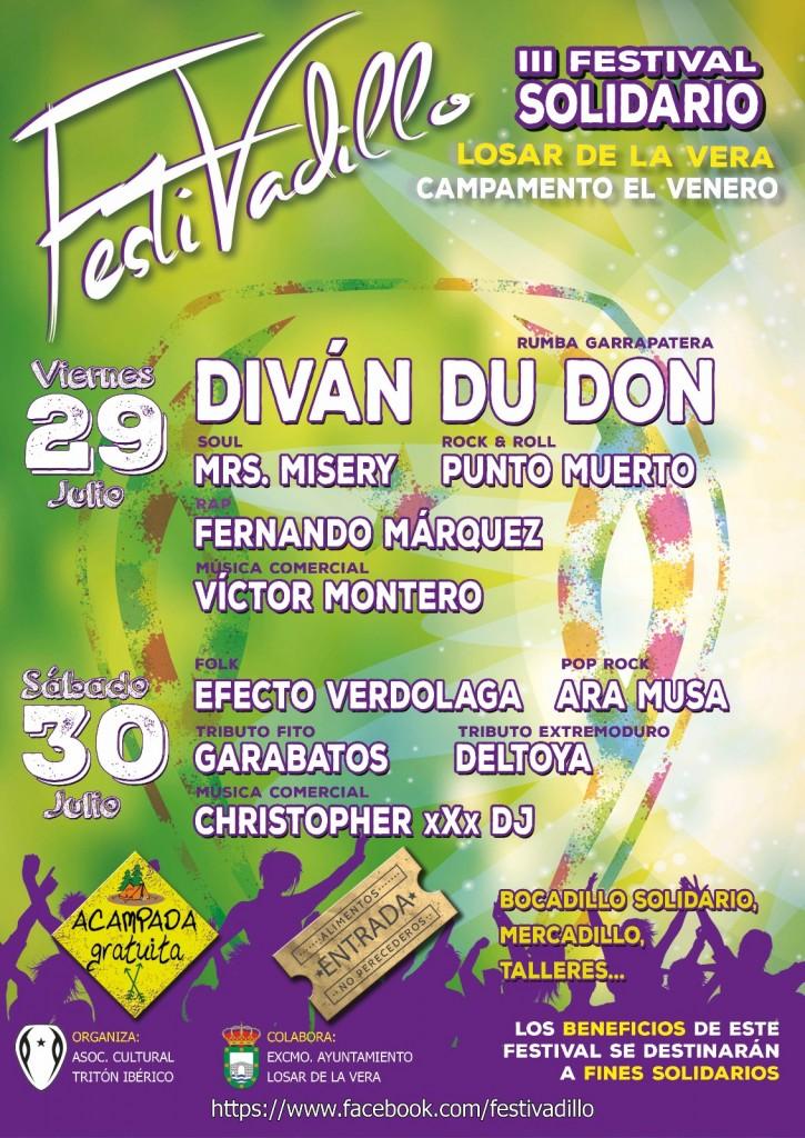 cartel festivadillo 2016