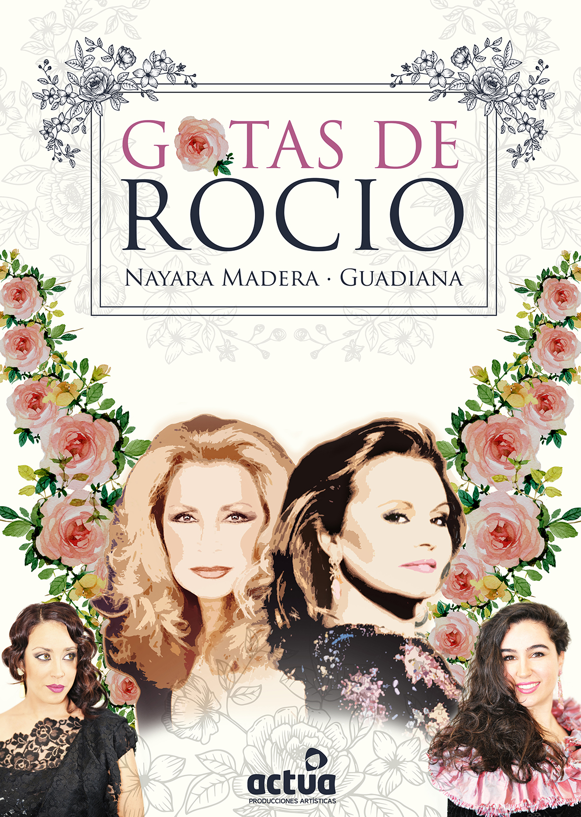 CARTEL GOTAS DE ROCÍO